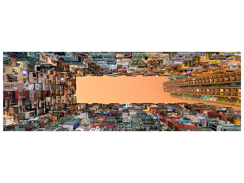 Tableau sur Toile Panoramique Crowded Spaces