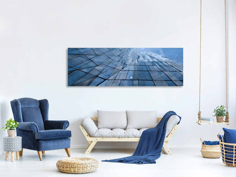 Panoramic Canvas Print Disappearance Point