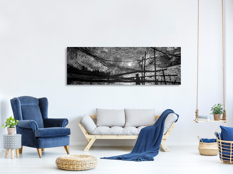 Tableau sur Toile Panoramique Wind Of The Sea