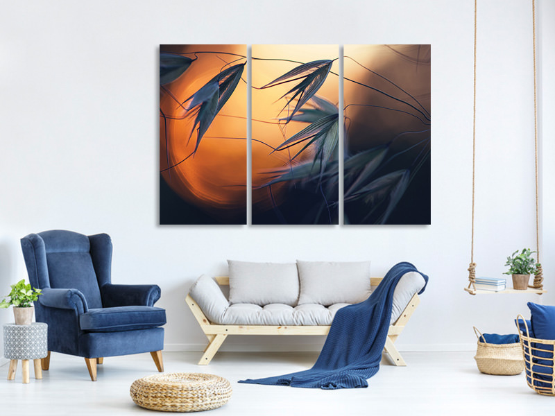 3 Piece Canvas Print Sunset