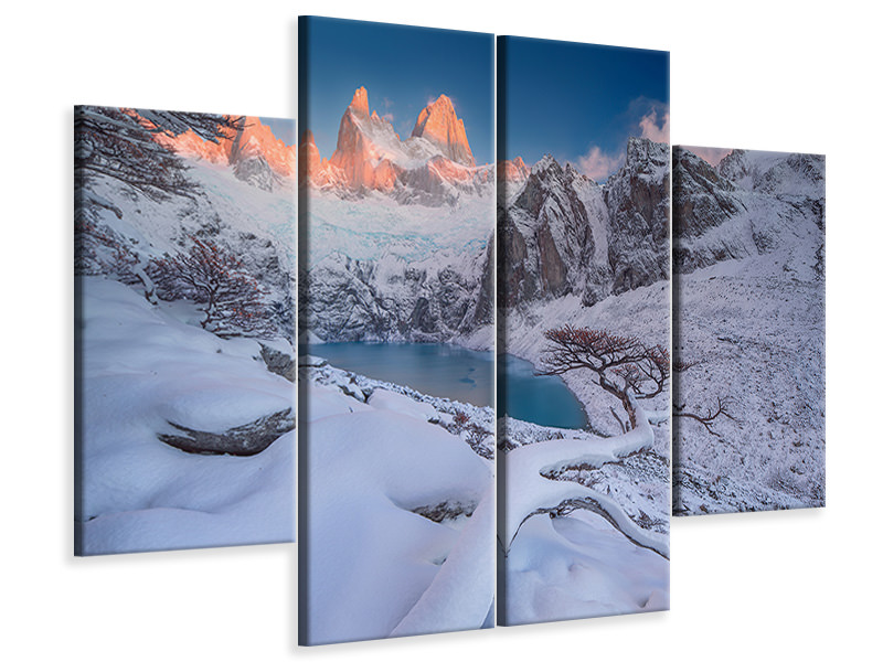4 Piece Canvas Print A Gift From The Gods