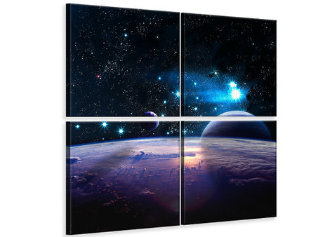 4 Piece Canvas Print The All