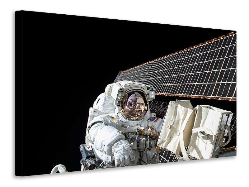 Canvas print Astronaut at work