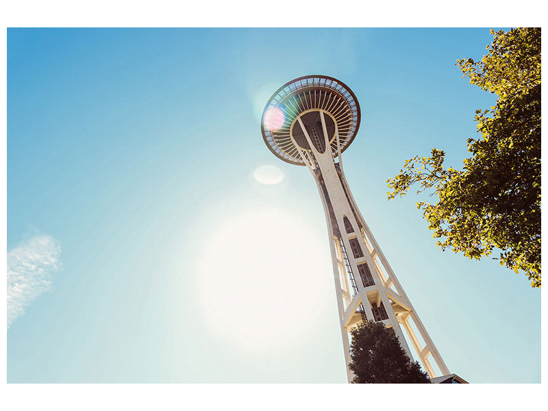 Stampa su tela Sunshine a Seattle
