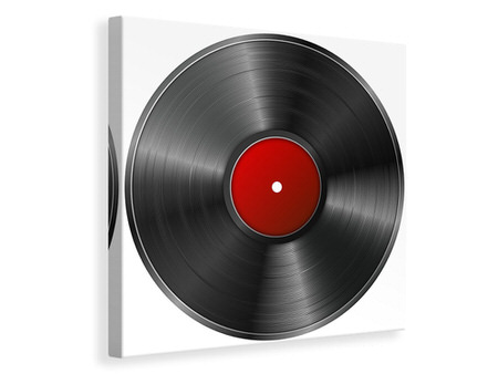 Canvas print Retro record