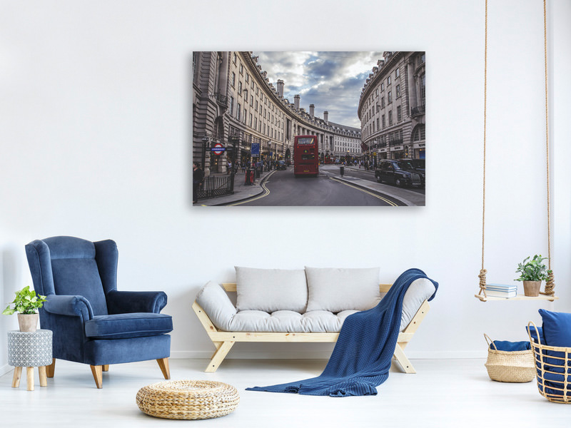 Canvas print Typical London