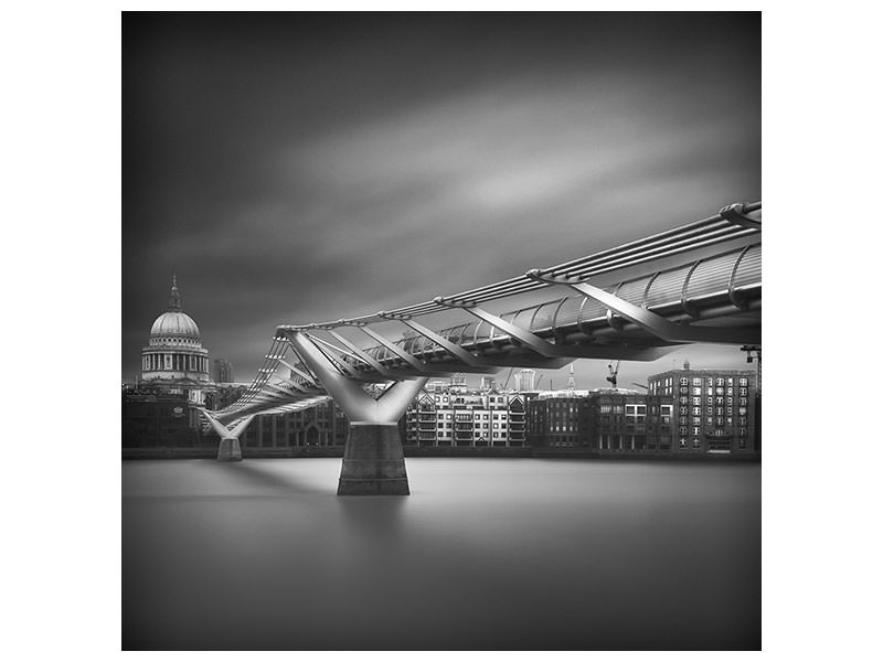 Canvas print Millennium Bridge