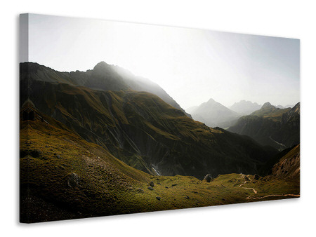 Canvas print Nationalpark Schweiz