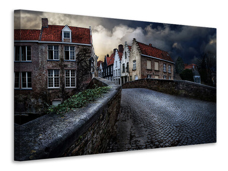 Canvas print An Evening In Bruges