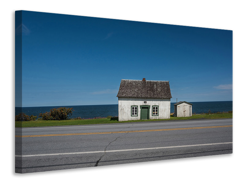 Canvas print House On The Road