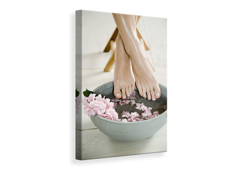 Canvas print Well-Manicured Feed