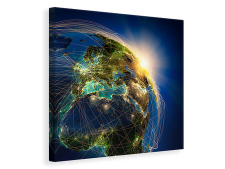 Canvas print Our Planet Earth