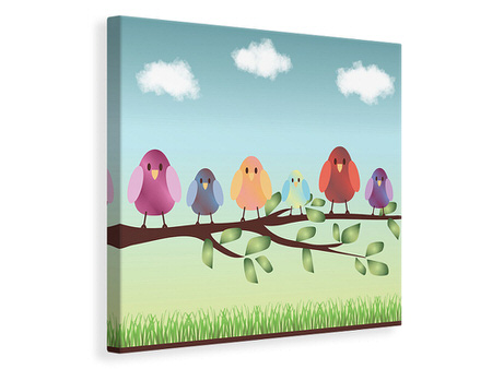 Canvas print All Birds Are Already There