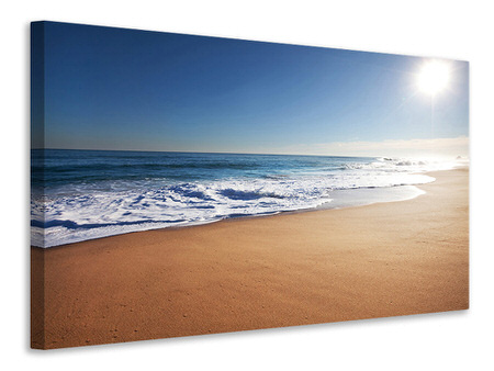 Canvas print Private Beach