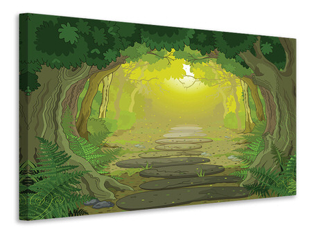 Canvas print Fairy Tales Forest