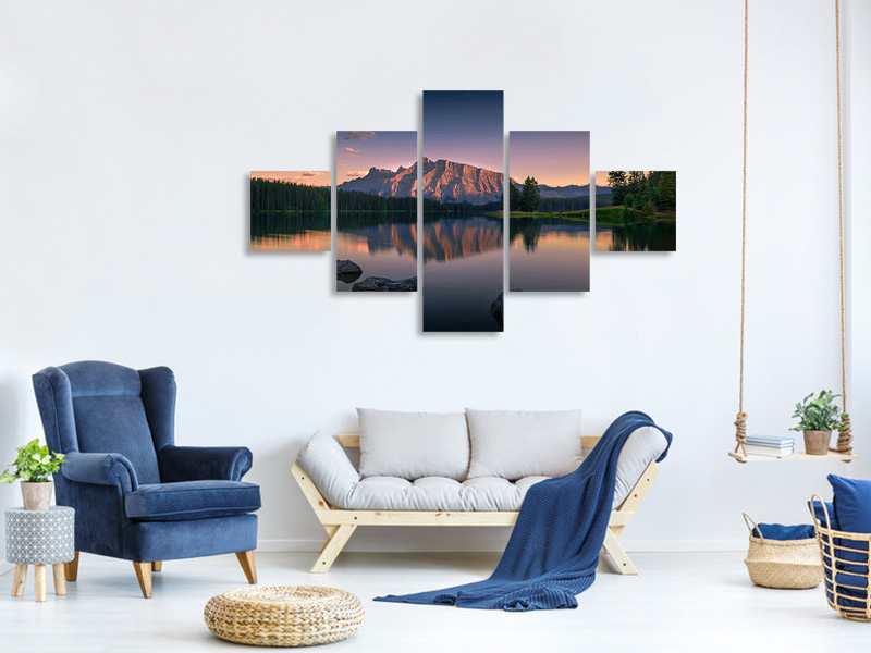 5 Piece Canvas Print Serenity