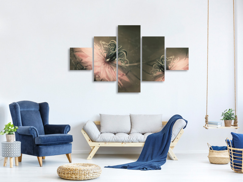 5 Piece Canvas Print The Virgins
