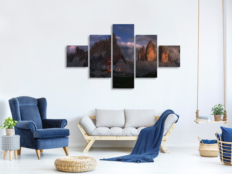 5 Piece Canvas Print Untitled 43