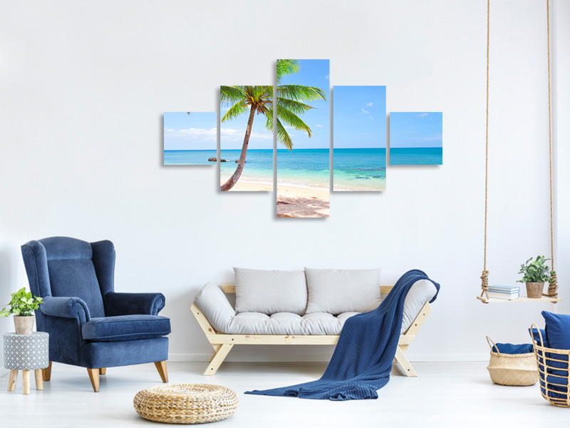 5 Piece Canvas Print The Own Island